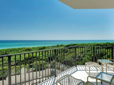 Photo for Spacious west end gulf front condo ~ Gorgeous Emerald Coast Views!