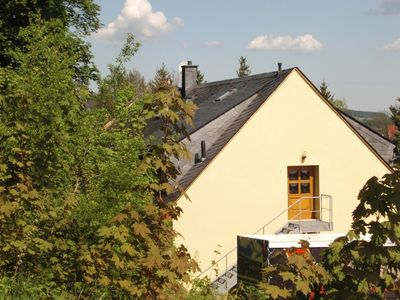 Photo for Beautiful apartment in the Ore Mountains with sauna and solarium in a top location