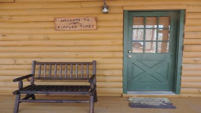 A True Rustic Log Cabin inside the Coosawattee River Resort. Game Room, Wi-Fi