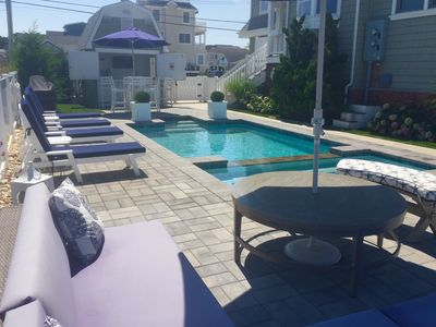 Photo for STUNNING  BAYFRONT Home with Heated  POOL, Jacuzzi, Cabana and Boat Slips