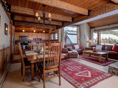 Photo for Ski-in, Ski-out Chalet in Big Sky Mountain Village with Excellent Views