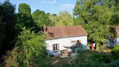 Photo for Gîte next to old water mill on 2 hect. estate. Peace, natural beauty, very private!