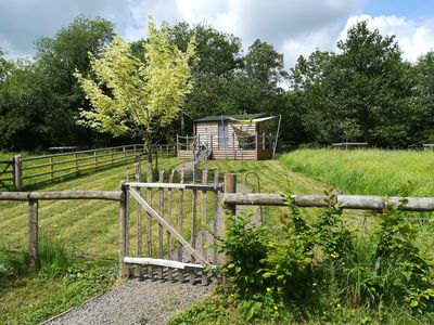 Photo for THE CABIN, pet friendly in Pandy, South Wales, Ref 958612