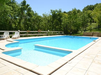Photo for Gite with heated pool and air-conditioning in Laurac Lauragais, Castenaudary