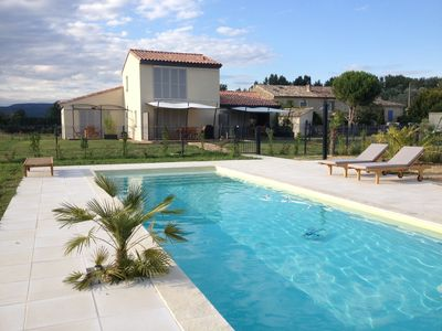 Photo for Furnished Tourist 4 * for 2-3 people, swimming pool and views of the Luberon