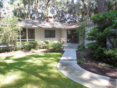 Photo for Deluxe 5 BR Sea Pines Home - 10 Minute Walk To Beach