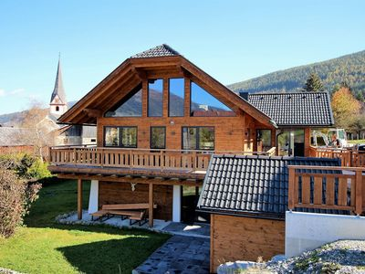 Photo for Beautiful chalet within walking distance of the ski slope with jacuzzi and sauna