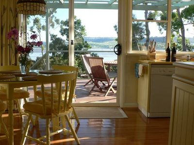 Photo for Olive's Cottage: Superb Views Of The Tamar River
