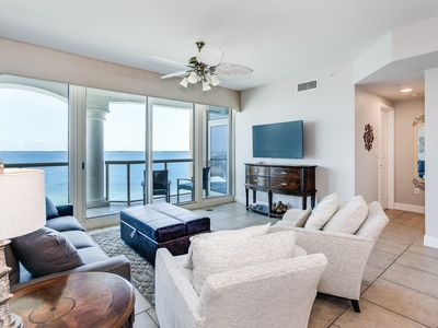 Photo for Spacious 2 Bedroom Condo at resort with Beach Access, Shared Pools, Spa and more