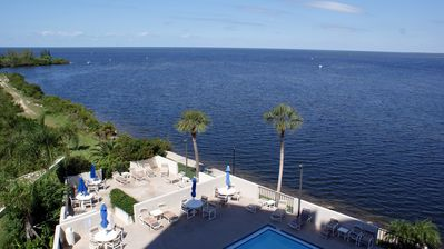 Photo for LUXURY CORNER-UNIT WITH DIRECT GULF VIEWS! 2 BALCONIES! 5 STAR RATED!