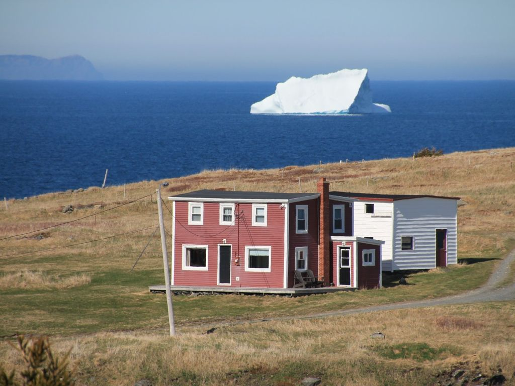 Red house on the point small point newfoundland and for Newfoundland houses
