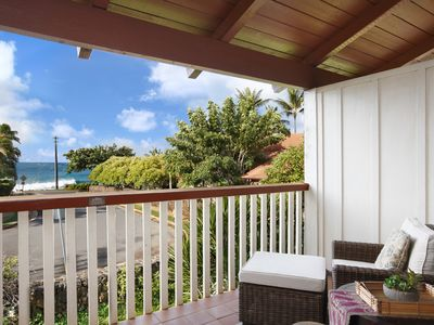 Photo for Nihi Kai Villas #302: AT POIPU BEACH WITH AIR CONDITIONING IN ALL ROOMS!