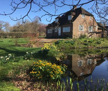 Photo for Peaceful, rural setting surrounded by 30 acres of  grounds with woodland & ponds