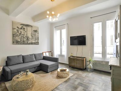 Photo for 1BR Apartment Vacation Rental in Marseille