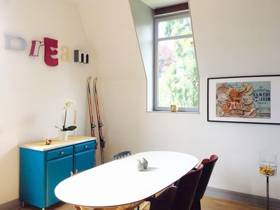 Photo for Charming duplex design and vintage - Downtown - Station / Metro