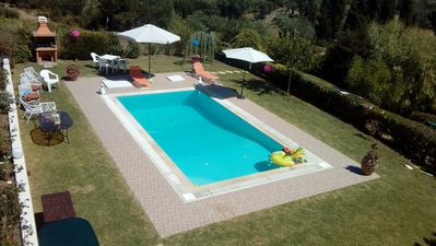 Photo for Apartment with pool near Gouvia | Even Ezer Apartment Corfu