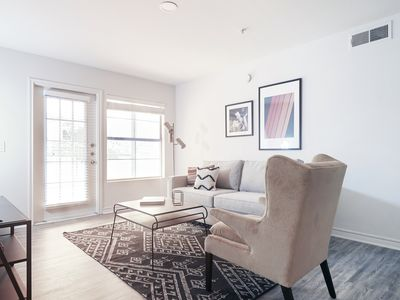Photo for Modern 2BR at The Domain by Sonder