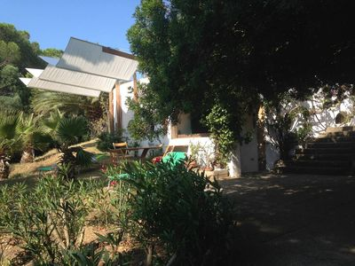Photo for Independent studio in villa with garden.