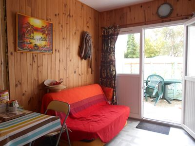 Photo for DUPLEX 30 M ² any comfort, CALM, 10 min beaches, WIFI. Terrace. Private parking