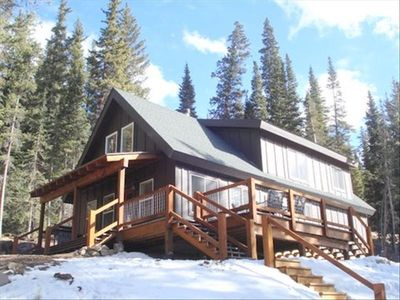 Photo for Custom Built Cabin with Amazing Views, Just 20 Min from Breck