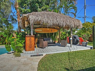 have the ultimate cookout under the tiki hut - Tiki Hut