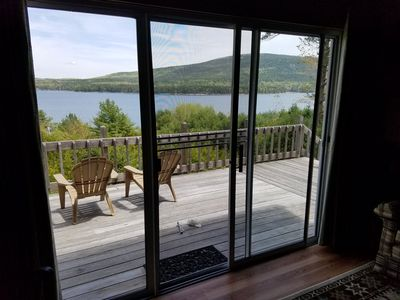 Photo for Oceanfront Cottage Surrounded by Acadia National Park with Docks & Row Boats