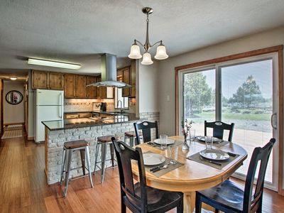Photo for NEW-Updated Home w/2 Decks on Central Oregon Canal