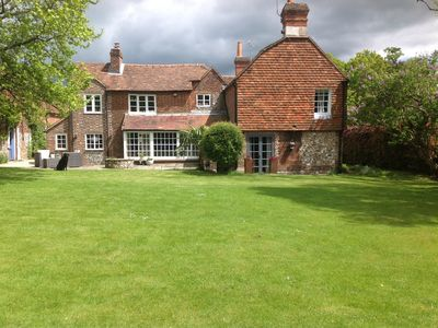 Photo for Beautiful country home with BBQs,table tennis,Warburg nature reserve