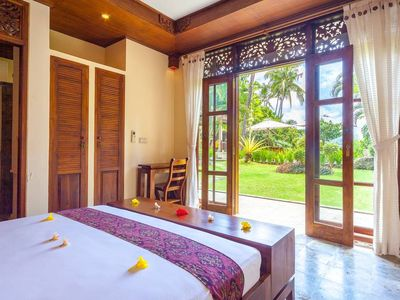 Photo for Private Garden Suite in Villa with Pool&Staff ~10 min from Beach