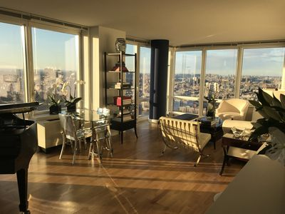 Photo for Elegant Manhattan Apartment with Amazing Central Park Sunsets