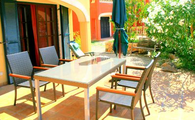 Photo for Apartment with sea view, large terrace and garden for 2 persons (Casa)