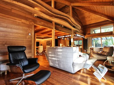 Photo for Luxury Chalet Acalou, 8 pers. with Sauna, Cinema Room, Gym in Serre-Chevalier