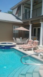 Photo for Enjoy Your Own Private Pool Close To The Beach!! Pet Friendly!
