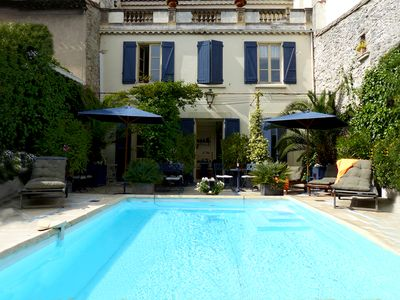Photo for Town house with swimming pool in Carcassonne
