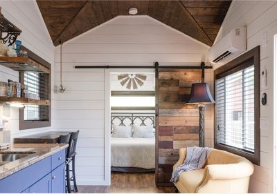 Brand New Rustic Tiny House With Ac Alberta Arts District Portland Oregon