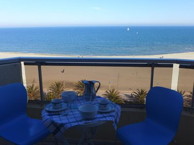 Photo for Apartment in Canet-en-Roussillon with Lift, Internet, Washing machine, Balcony (533249)