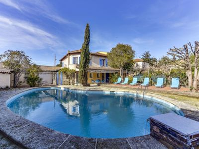 Photo for 3 bedroom Villa, sleeps 6 in Sainte-Maxime with Pool, Air Con and WiFi