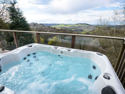 Photo for Wye Valley Forest Retreat: Secluded Cottage which sleeps six & dogs very welcome