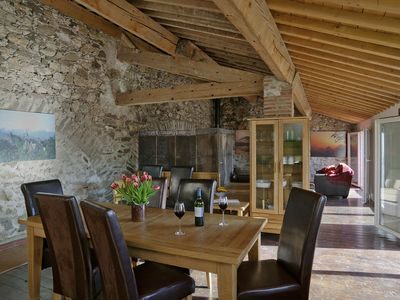 Photo for Renovated barn full of Character and Charm with Stunning Mountain Views