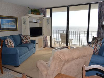 Photo for Royal Garden Resort 314 - Oceanfront in Garden City Beach