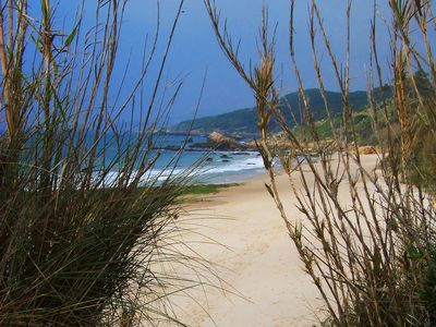 Photo for HOUSE WITH SEA VIEWS AND VIRGIN BEACHES. FREE WIFI. PUNTA PALOMA, RATE,
