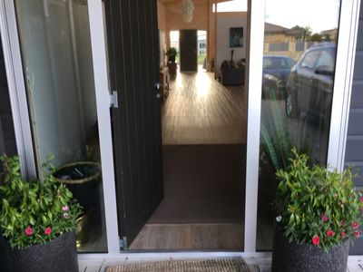 Photo for Relaxing home 5 mins walk from beach and shops