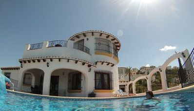 Photo for Luxury 4 Bedroom Villa - 10 berth - Private Heated Pool - Stunning Sea Views