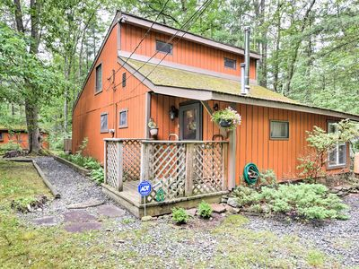 Photo for Cozy Hawley Home w/ Deck & Grill - Walk to Lake!