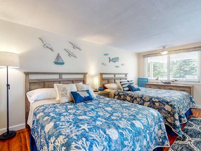 Photo for Suite w/ patio, sun deck & shared pool - 1 mile to Ogunquit Beach!