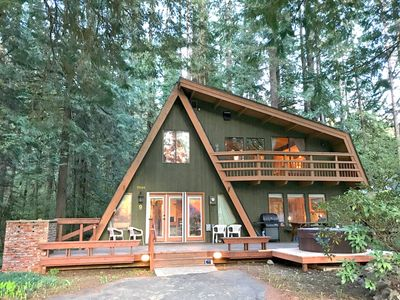 Photo for Snowline Cabin #30 - A Great Family Retreat! Private Hot Tub! - Two Bedroom Chalet, Sleeps 6