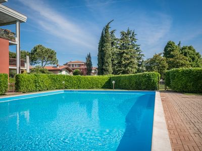 Photo for Bright Apartments Desenzano - Caravelle Pool 1 bedroom