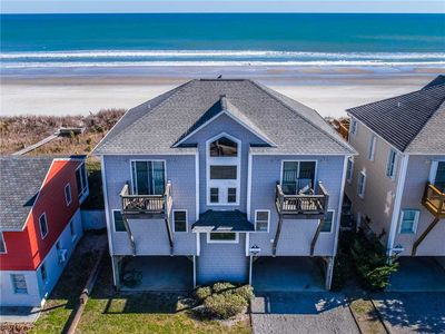 Photo for ALL DECKED OUT: 4 BR / 4 BA oceanfront in Topsail Beach, Sleeps 8