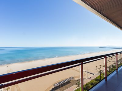 Photo for LUXURY APARTMENT APARTMENT 11 with direct views of the sea, sunrises live.