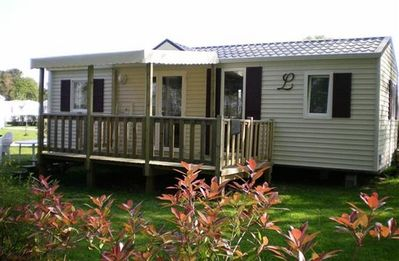 Photo for Camping Entre Terre et Mer *** - Mobile home 4 Rooms Comfort Plus 6 People
